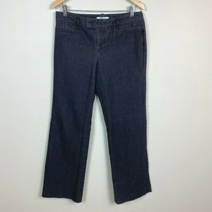 G.H. Bass Co Jeans Charcoal Railroad Stripe Tabbed
